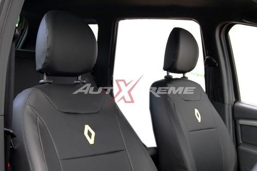Imagem 1 de 2 de Capa De Couro P/ Banco Renault Duster Oroch 2019