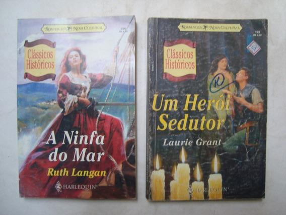 Lote De 10 Livros Romances Clássicos Históricos