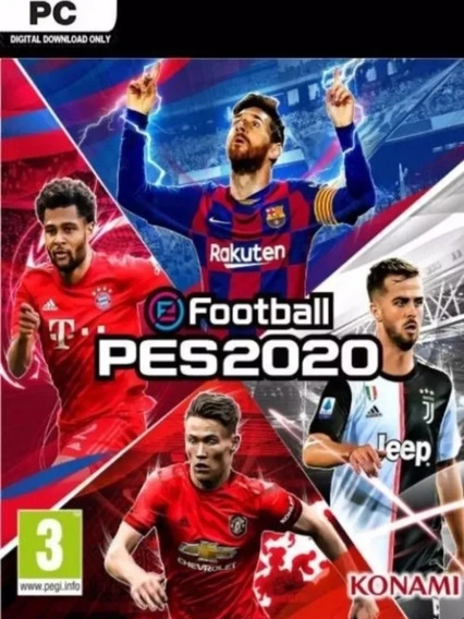 Pes 2020 Efootball Original Steam Online!!!