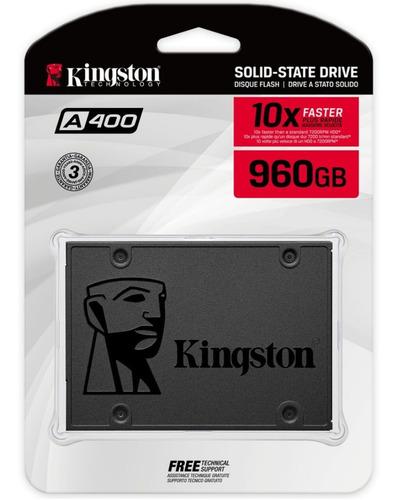 Imagen 1 de 6 de Kingston Ssd 960gb Disco Duro Solido Gamer Tranza