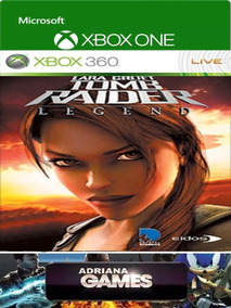 Tomb Raider Underworld Game Digital Xbox One/360 Licença