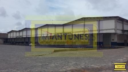 Imagem 1 de 15 de Alugue Em Jardim Jordão Galpão Com 10.070m², Próximo Ao Aeroporto Com Doca (plataforma) - Ga-0252