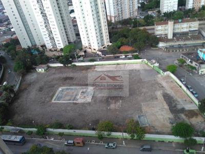Terreno Comercial Para Locação, Parque Novo Mundo, São Paulo. - Te0048