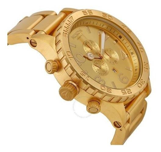 Relógio Nixon 51-30 Banhado Ouro 18k