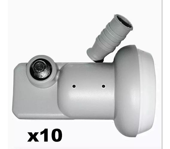 10x Lnbf Ku Simples Universal Monoponto Lnb Greatek