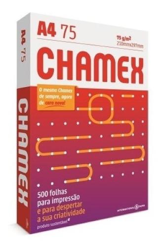 Resma A4 - Chamex - 500 Folhas