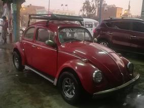 Volkswagen Escarabajo Rojo