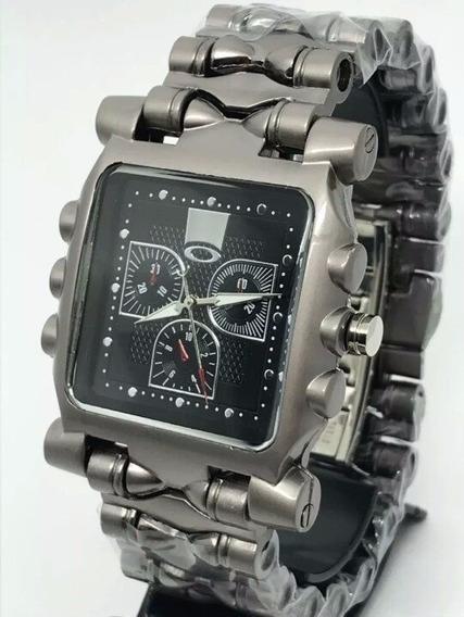 Relógio Oakley Tank Minute Machine Raridade - Frete Gratis