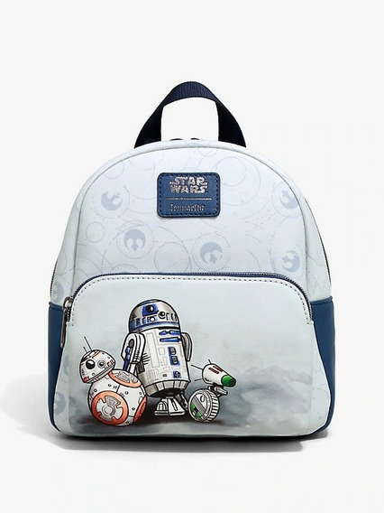Disney Mini Backpack Loungefly Droides Star Wars