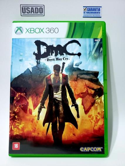 Jogo Dmc Devil May Cry Xbox 360 Usado