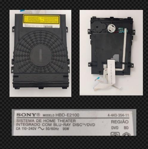 Unidade Óptica Com Mecanismo Sony Hbd-e2100 Semi-nova