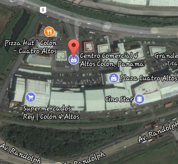 Se Vende Local Comercial De 360 M2 En Plaza 4 Altos, Colon