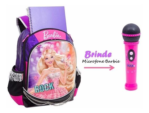 Mochila M Barbie Rock