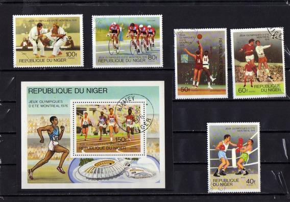 Nigeria Sellos Serie Completa-deportes