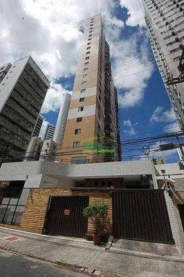 Apartamento Com 3 Dormitórios Para Alugar, 88 M² Por R$ 1.410,00/mês - Casa Amarela - Recife/pe - Ap1100