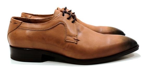 Zapato Hombre Oxford Cuero Vacuno Diseño Franco By Ghilardi
