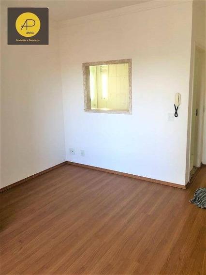 Apartamento No Residencial Ellegance, Com 3 Dorm Sendo 1 Suíte, Alto Ipiranga, Mogi Das Cruzes. - Ap0100