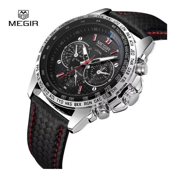 Relógio Megir, Cronógrafo, Qualidade E Preço.