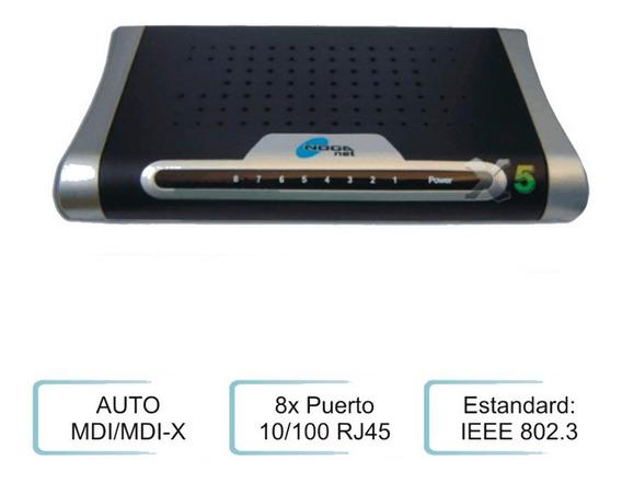 Switch Noganet Mg-s1008d 8 Puertos