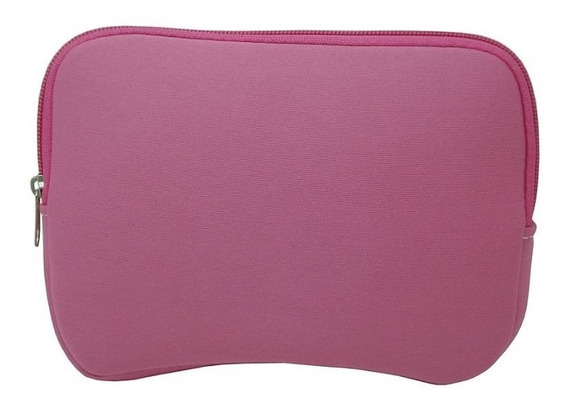 Luva Capa Case Para Notebook Ultrabook De 15,6 Pol Rosa