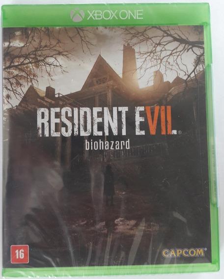 Resident Evil Biohazard Xbox One, Novo Lacrado, Mídia Física