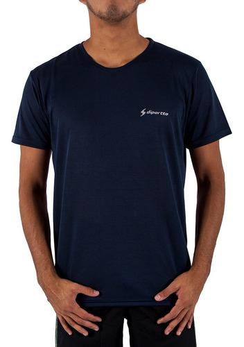 Imagen 1 de 4 de Remera Diportto Entrenamiento Dry Fit Azul