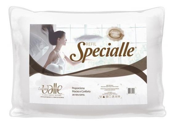 Travesseiro Microfibra Sensação Specialle 200 Fios L. Valle