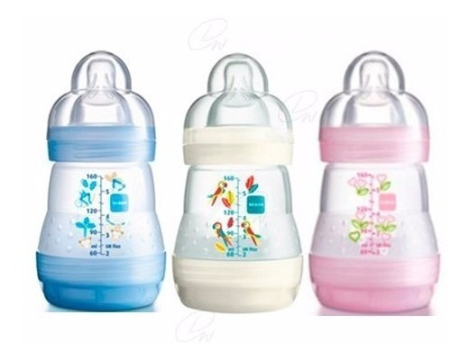 Teteros / Biberones Anti Cólicos Para Bebés Mam 160ml