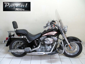 Harley Davidson Heritage Softail Custom 2006 Preta