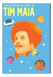 Quadro Musica Tim Maia Soul Mpb Arte Moldura 42x29cm
