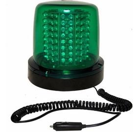 Giroled Giroflex 12v Verde 64 Leds Imã E Plug 6 Efeitos