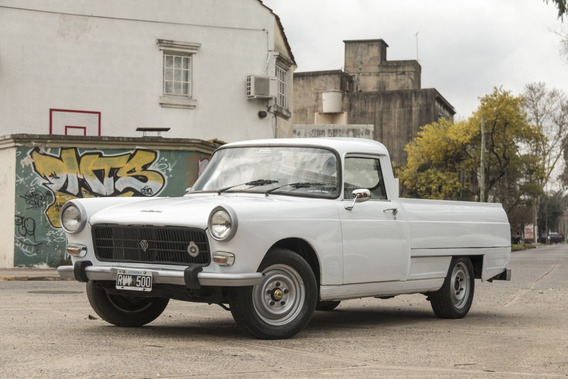 Peugeot 404 Pick Up Titular Motor Hecho A 0km