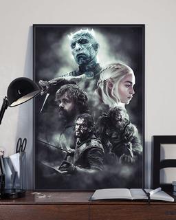 Poster Game Of Thrones Poster Adesivo / Fotográfico Frete 8$