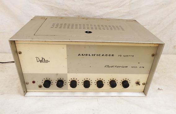 Amplificador Auditorium Modelo 274 - 75 Watts - Leia Descric