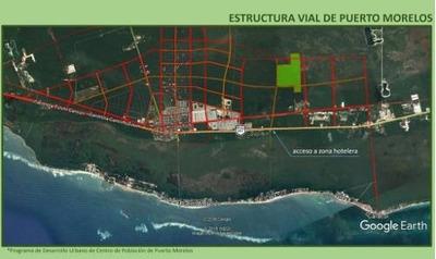 Terreno En Venta Con Excelente Ubicación, Ubicado En Puerto Morelos, $15 Usd Por M²