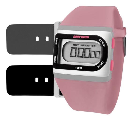 Relógio Digital Mormaii Troca Pulseira Fzg/t8t