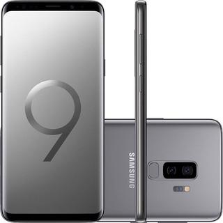 Celular Smartphone Samsung Galaxy S9+ 128gb Tela 6.2 Cinza