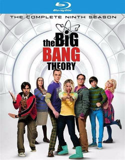 Blu-ray The Big Bang Theory Season 9 / Temporada 9