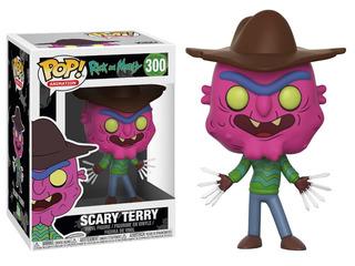 Figura Funko Pop! #300 Rick Y Morty Scary Terry Original