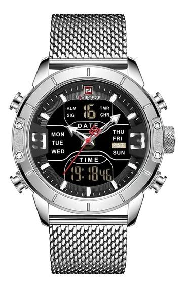 Relógio Naviforce 9153 - Prata