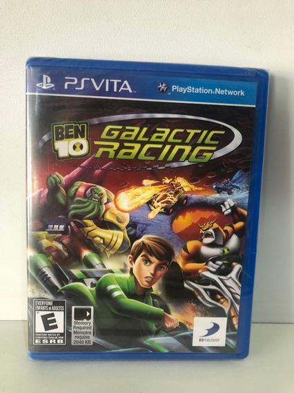 Jogo Psvita-ben 10 Galactic Racing