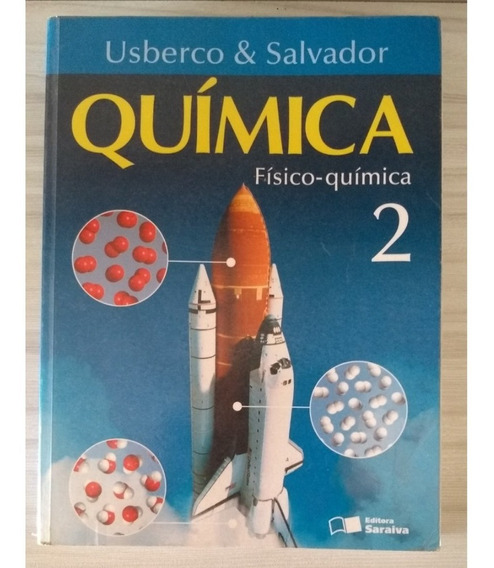 Livro Química Usberco Salvador - Vol 2 Ed Saraiva