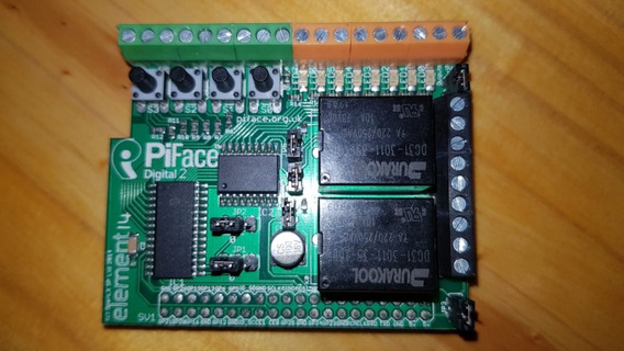 Raspberry Pi Piface Digital 2 Element14 Placa Expansion