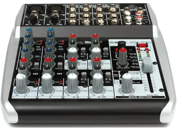Consola Mixer Behringer Qx1002usb Preamplificada 10 Canalesp