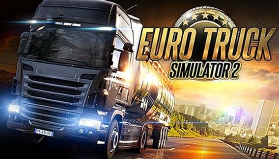 Euro Truck Simulator 2 Pc + Qualquer Jogo A Sua Escolha