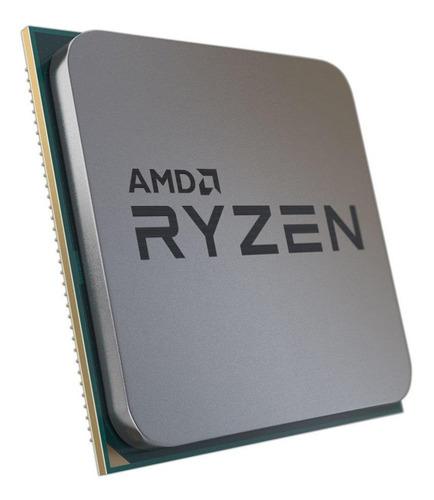 Processador gamer AMD Ryzen 5 3600X 100-100000022BOX de 6 núcleos e 3.8GHz de frequência