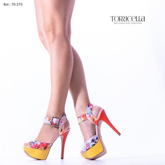 Sapato Sandália Feminina Moda Torricella,salto 13cm-promoção