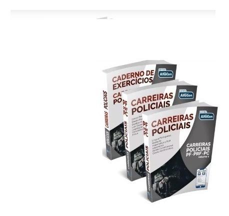 Apostilas Carreiras Policiais - 2019 - Alfacon Lacrado
