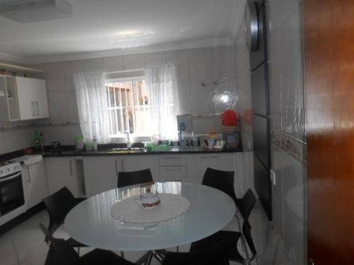 Imagem 1 de 30 de Sobrado Com 3 Dormitórios À Venda Por R$ 790.000,00 - Jardim Hollywood - São Bernardo Do Campo/sp - So0187