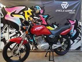 Suzuki En 125 0km 2018 Promocion Ya Al 8/9